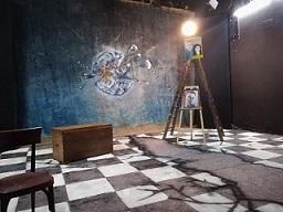 La carriera di Edipo di Camilla Migliori- scenografia di M.Leveque